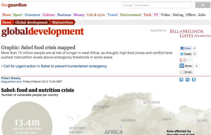 Sahel Famine 2012